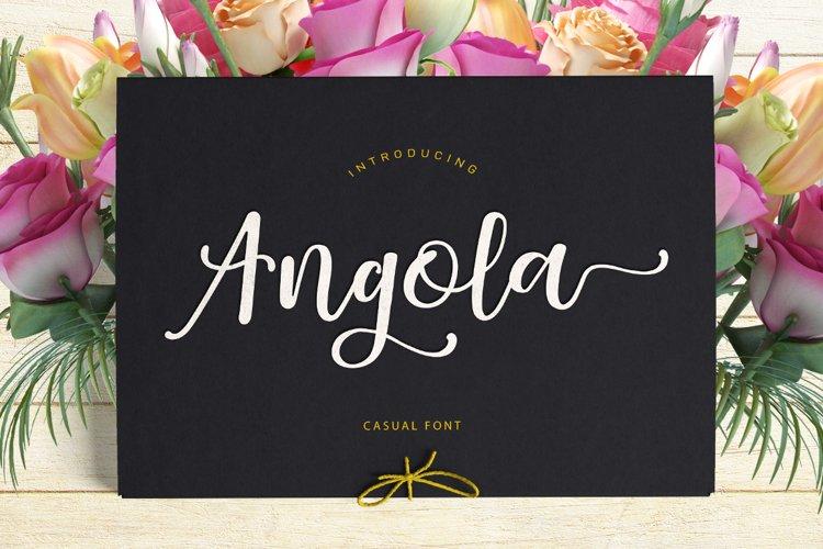 Angola Script example image 1