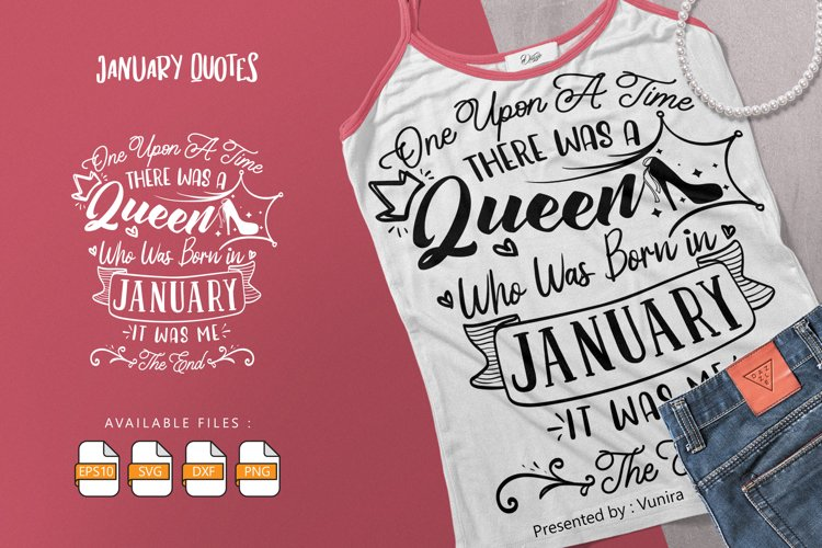 One Upon A Time There Was A Queen   Lettering Quotes example image 1