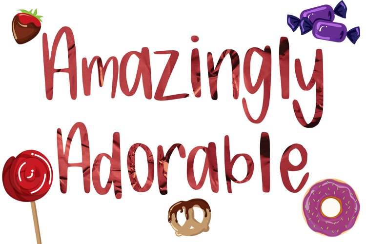 Candy Lane Font example 4