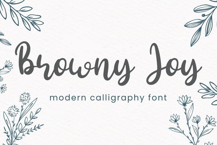 Browny Joy example image 1