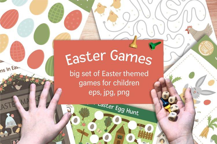 Download Easter Games 429766 Educational Design Bundles