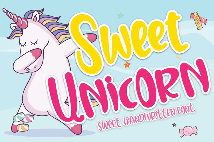 Sweet Unicorn example image 1