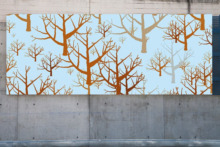 160 Silhouette Tree & Branch Photoshop Brushes Pack abr.
