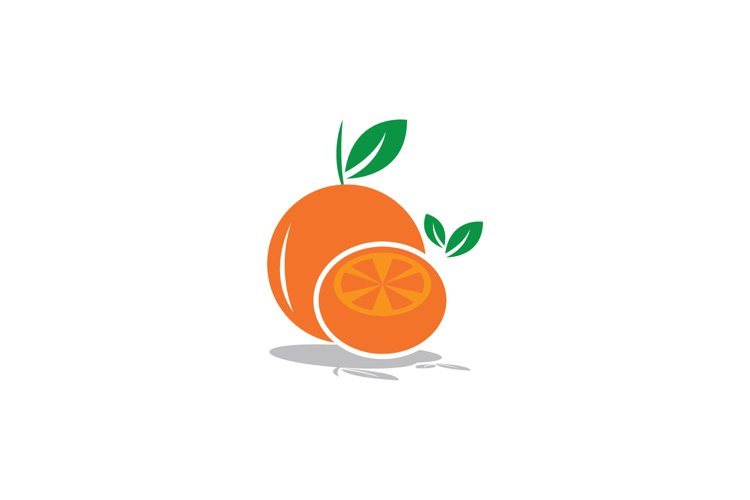 orange fruit clipart vector illustration example image 1