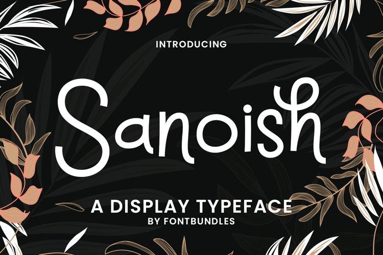Sanoish
