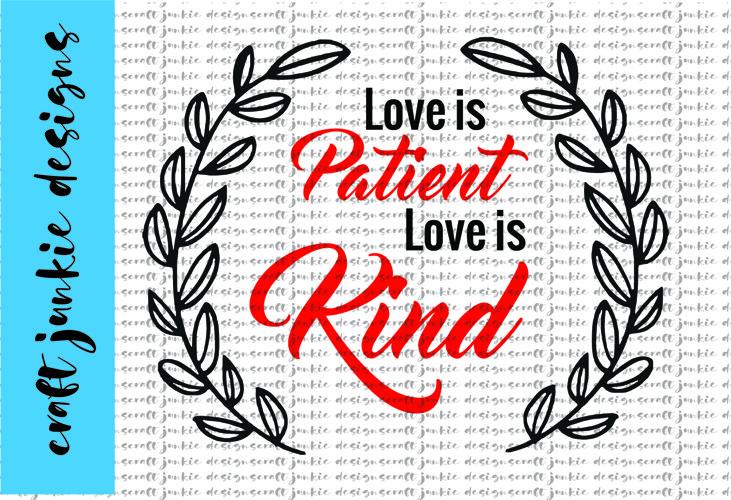 Love Is SVG