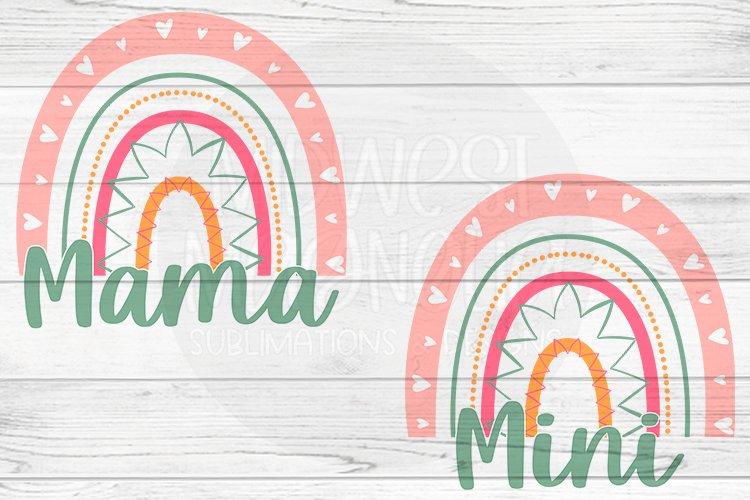 Mama & Mini Rainbow example image 1