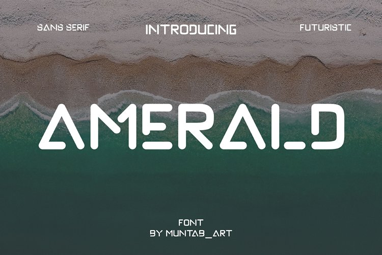 Amerald | Modern Sans example image 1