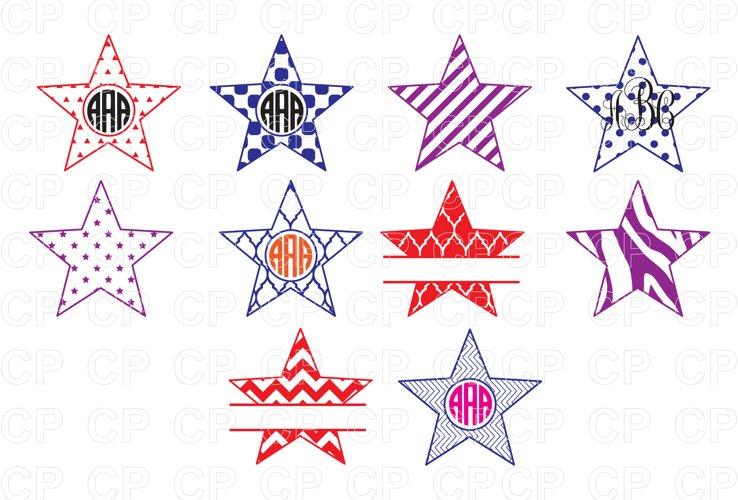 Star Bundle SVG Cut Files, Star Clipart