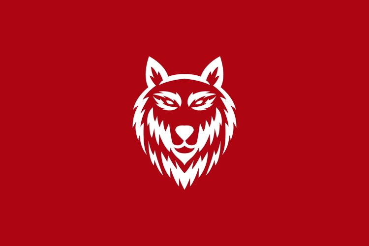 wolf head logo example image 1