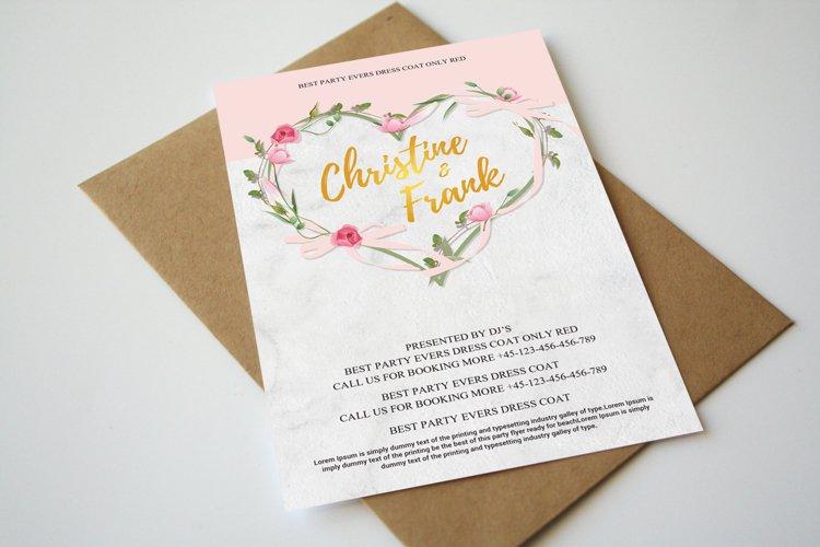 Elegant Wedding Invitation Cards example image 1
