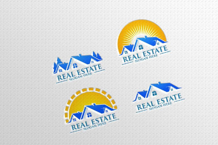 Real estate Vector Logo Design, Building and Home 13