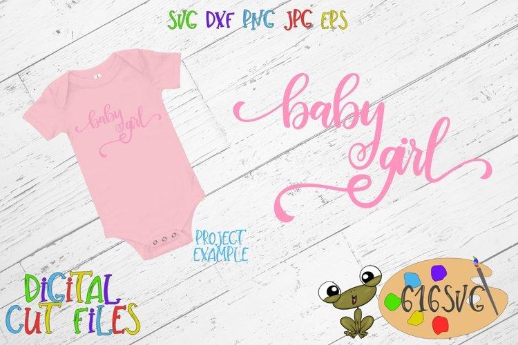 Baby Girl SVG