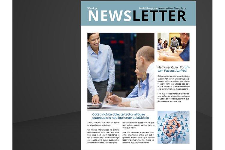 Letter & US Letter Newsletter example image 1