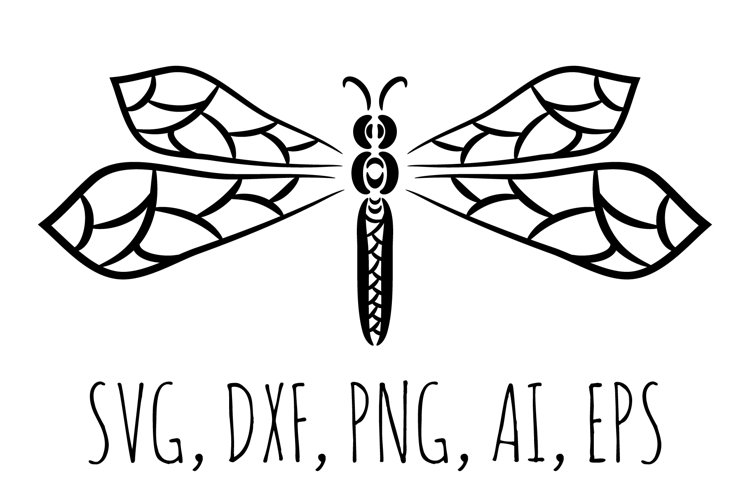 Dragonfly svg, insect svg.