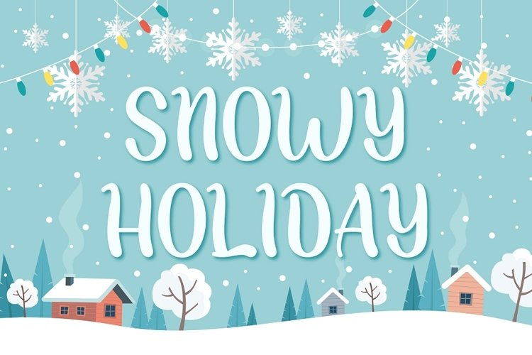 Snowy Holiday example image 1