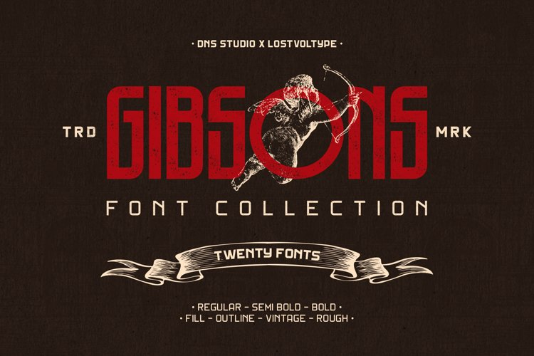 Gibson Font Collection