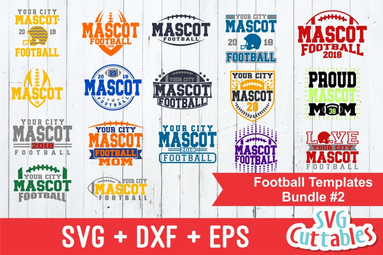 Football SVG Bundle #2 | SVG Cut Files
