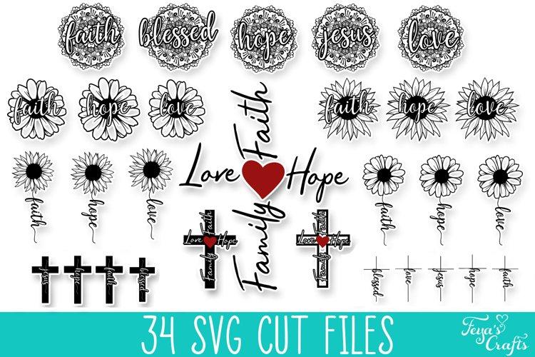 Faith SVG Bundle| Christian SVG Cut Files Bundle