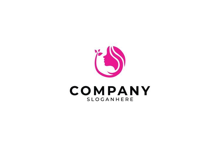 Women Face Logo example image 1