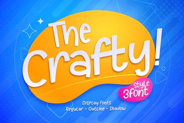 The Crafty ! - Handwritten Font example image 1