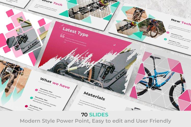 Vega Bike Presentation Template