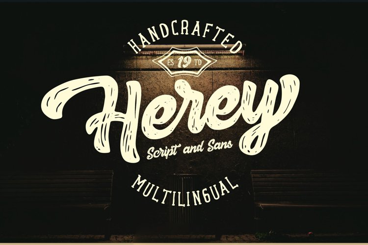 Herey - Script and Sans example image 1