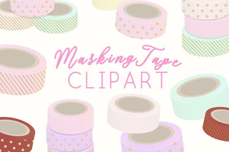 Masking TapeIllustration Clipart example image 1