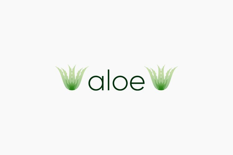 Aloe logo example image 1