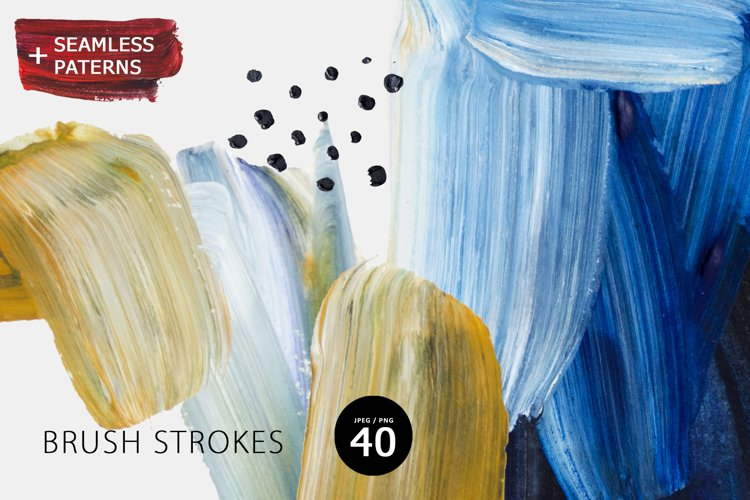 Brush Strokes example image 1
