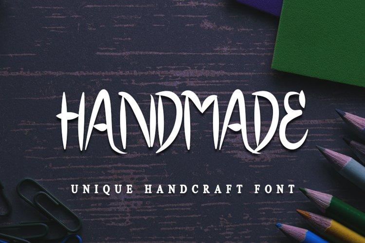 Handmade - Craft Stylish Font example image 1
