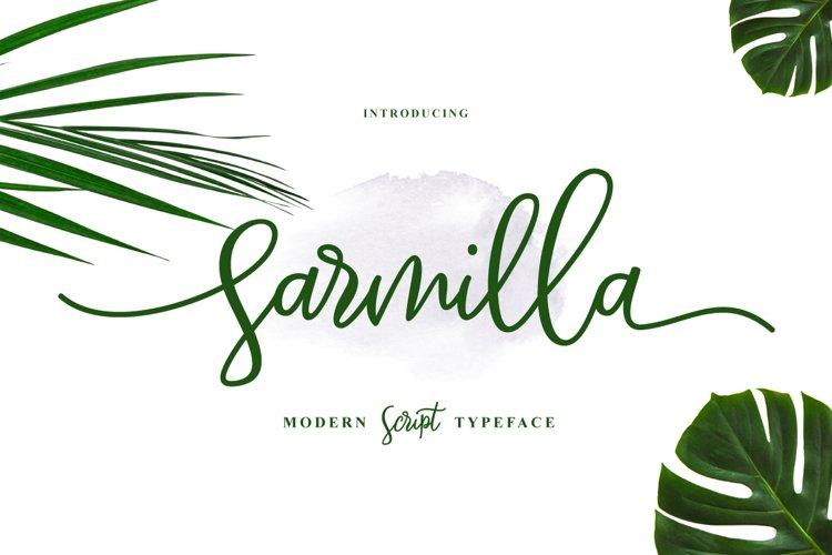 Sarmilla Script example image 1