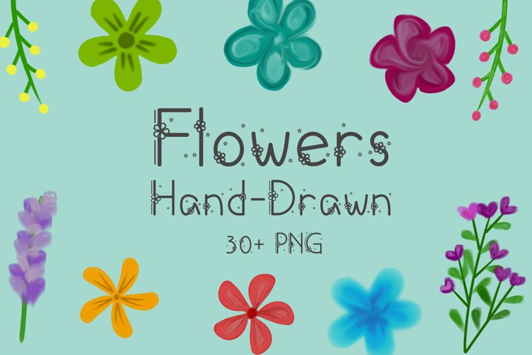 Hand-Drawn Flowers