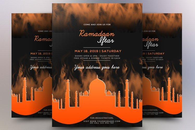 Ramdan Iftar Flyer