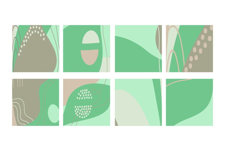 Fun hand drawn colorful shapes, doodle objects abstract bg example image 1