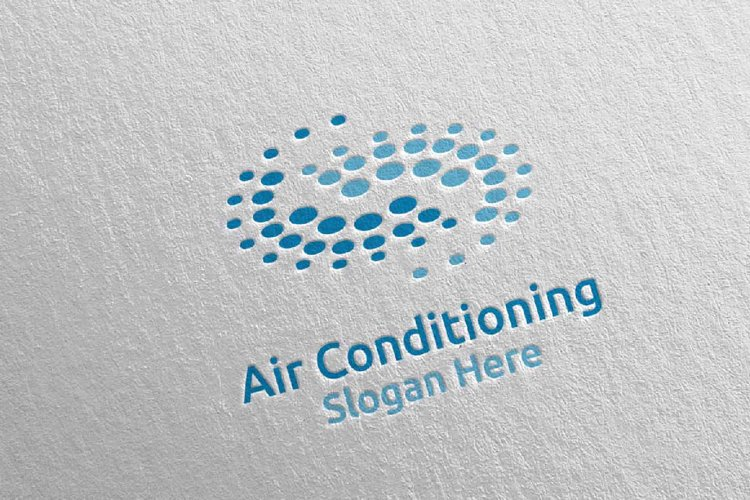 Air Conditioning and Heating Services Logo 7 example image 1