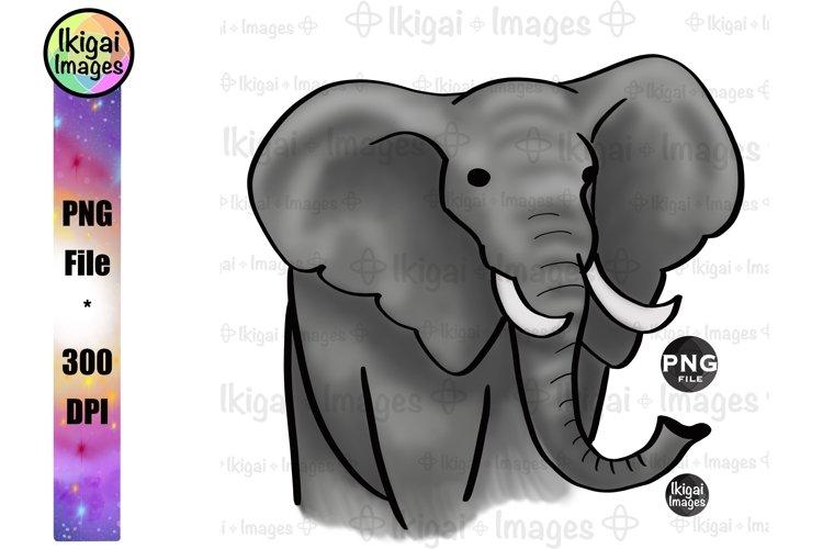 Elephant PNG, Safari Animal Sublimation, Nursery Printable