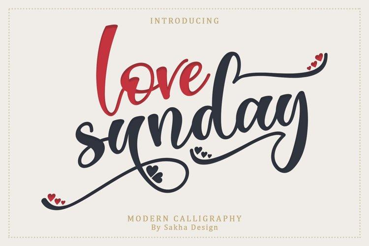Love Sunday example image 1
