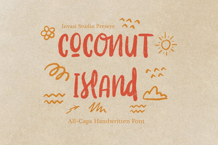 Coconut Island | Display Font
