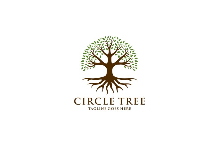 tree nature logo 752871 logos design bundles tree nature logo