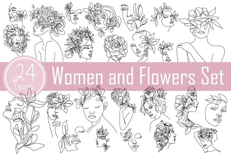 Women and Flowers