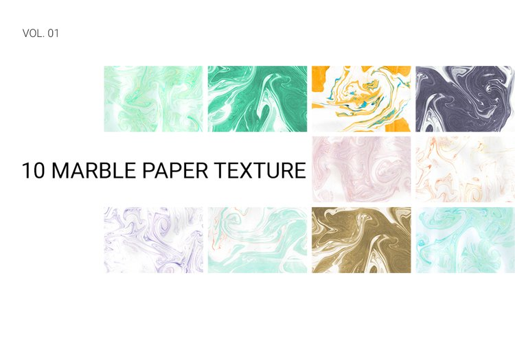 Marble Paper Textures Vol.01