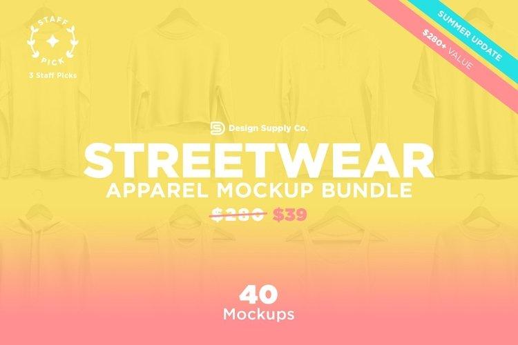 Streetwear Essentials Mockup Bundle example image 1