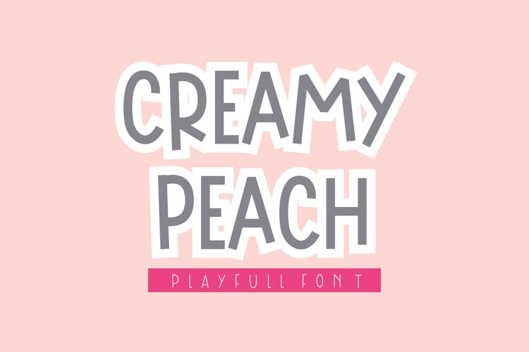Creamy Peach example image 1