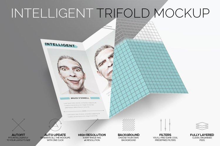 Intelligent TriFold Mockup example image 1