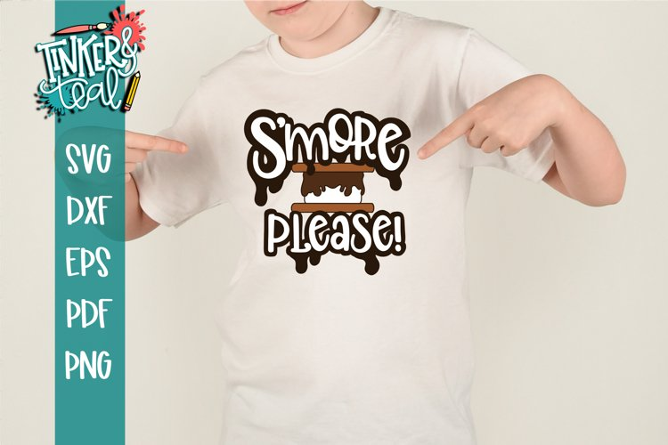 S'more Please Funny S'mores SVG example image 1