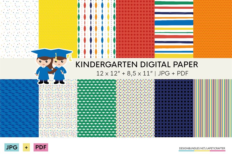 Colorful printable paper for children's parties example image 1