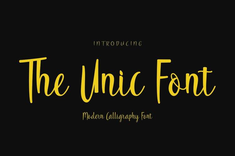 The Unic Font