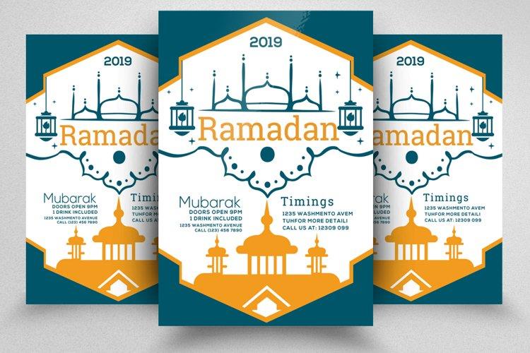 Ramadan Mubarak Flyer example image 1