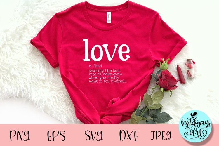 Love definition svg, valentines day svg example image 1